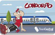 Metrotren Rancagua se suma a la celebración de los 71 años de Condorito con tarjeta coleccionable