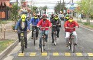 Rancagua cuenta con pionera CicloCalle en sector poniente