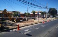 Municipio inicia mejoramiento de bandejón de Alameda en Población Siempre Unidos