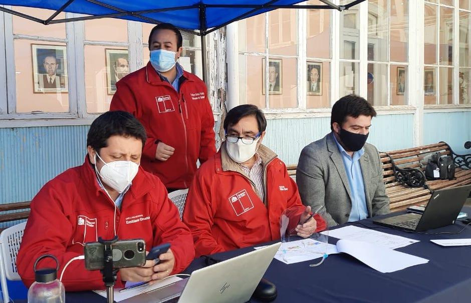 10 Servicios públicos participaron en el tercer gobierno en terreno virtual organizado por la Gobernación de Cachapoal