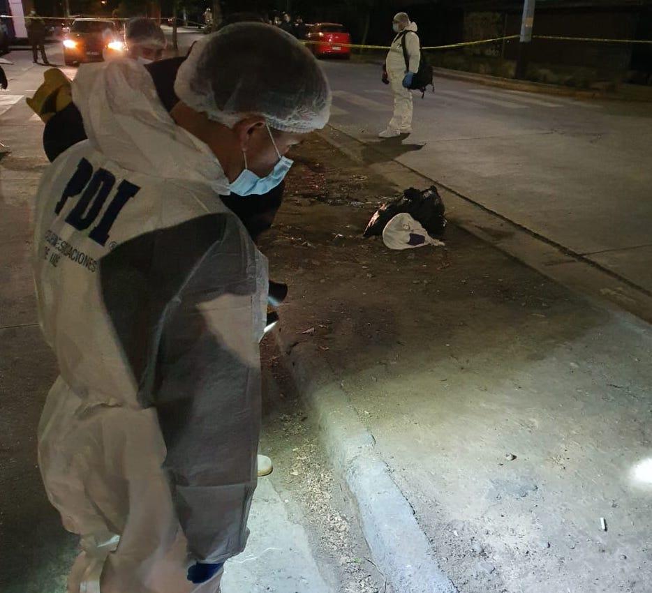 PDI investiga muerte y homicidio fustrado en Rancagua