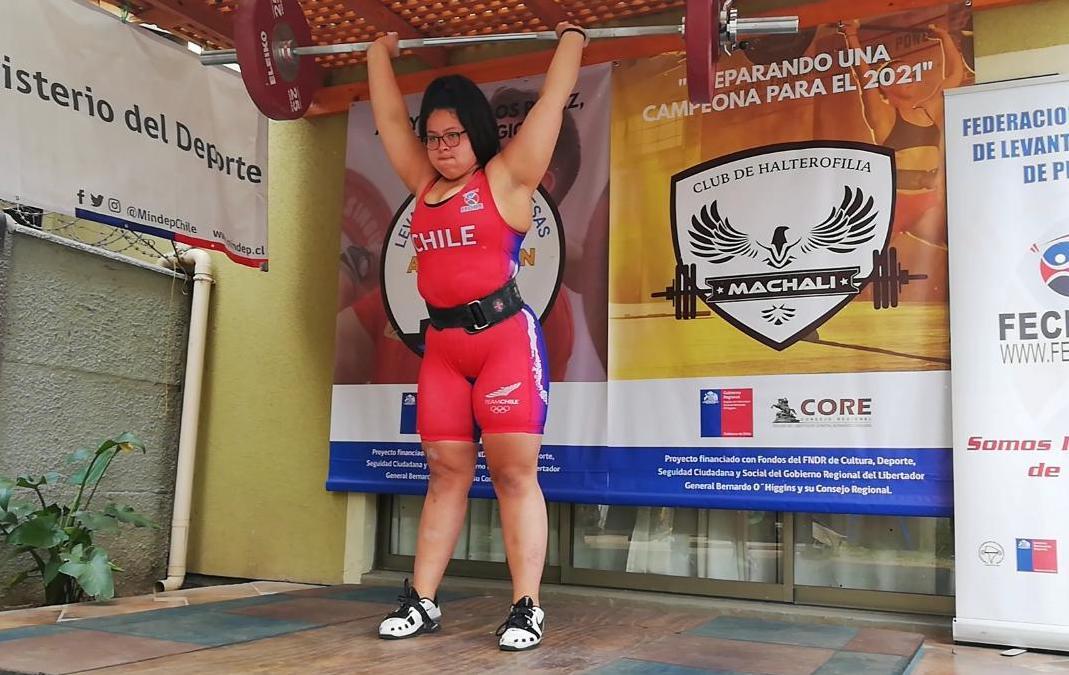 La Halterofilia en el podio del sudamericano de Colombia