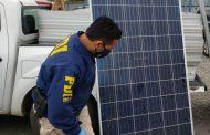 PDI recupera en Santiago paneles solares robados a empresa de la región