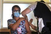 Comenzó vacunación contra el COVID-19 a personal de Salud en O'Higgins