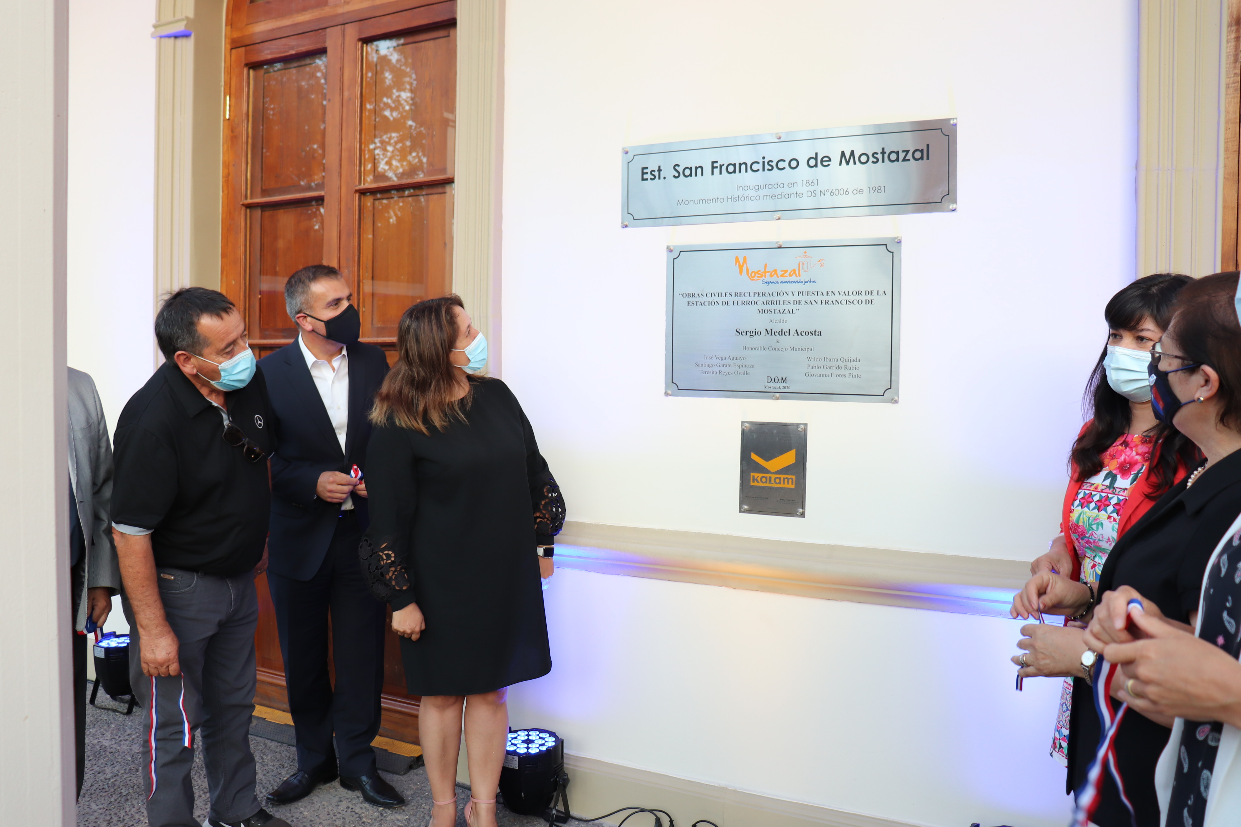 Antigua Estación Mostazal es recuperada gracias a innovador convenio de puesta en valor entre EFE y el municipio