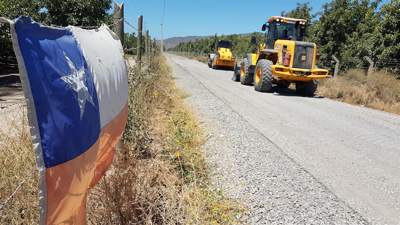 Rancagua: Vecinos de San Ramón dan inicio de obras de pavimentación de calle que unirá el sector con Punta de Cortés