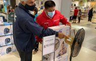 Autoridades de Energía fiscalizan venta de ventiladores