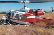 Personal de la Brigada de Aviación Ejército rescata a piloto de un accidente de Helicóptero en la comuna de Olivar