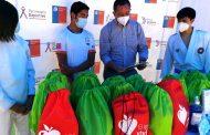 Ministerio del Deporte y Codelco Chile División El Teniente entregan kits de trabajo a deportistas regionales