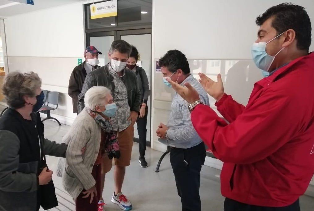 Seremi de Salud visitó puntos de vacunación en Chimbarongo, San Vicente y San Fernando