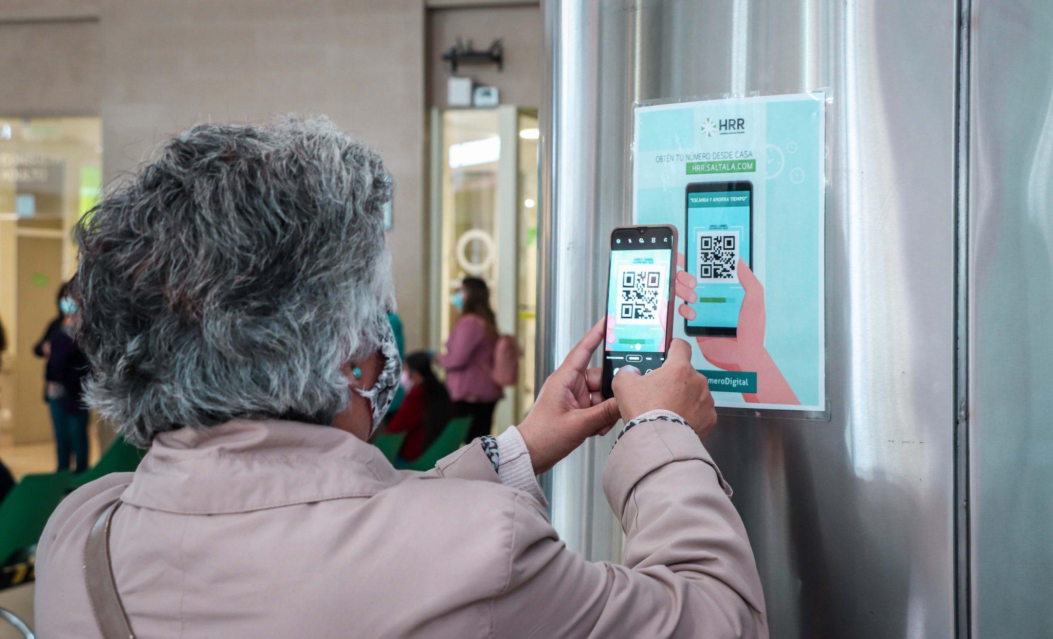 Rancagua: Ticket Virtual mediante código QR permitirá evitar filas en Hospital Regional