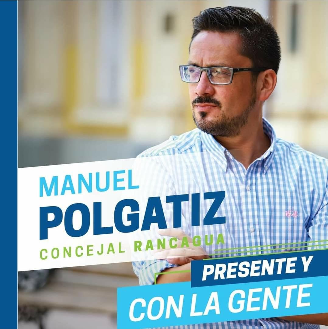 Manuel Polgatiz, candidato concejal por Rancagua: