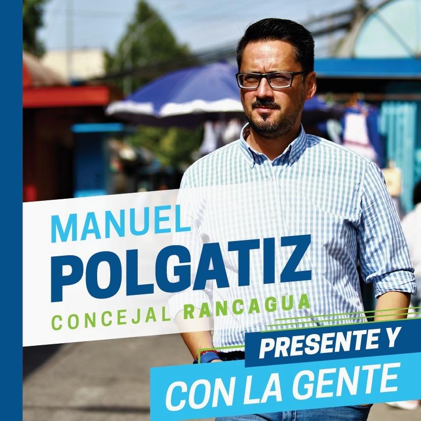 """Manuel Polgatiz, candidato a concejal por Rancagua:  """"Apoyo a Raimundo Agliati porque compartimos la misma visión futuro"""""""