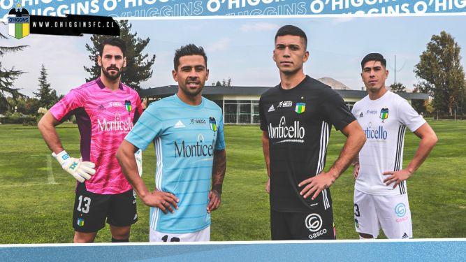 O'Higgins presenta sus nuevas camisetas 2021