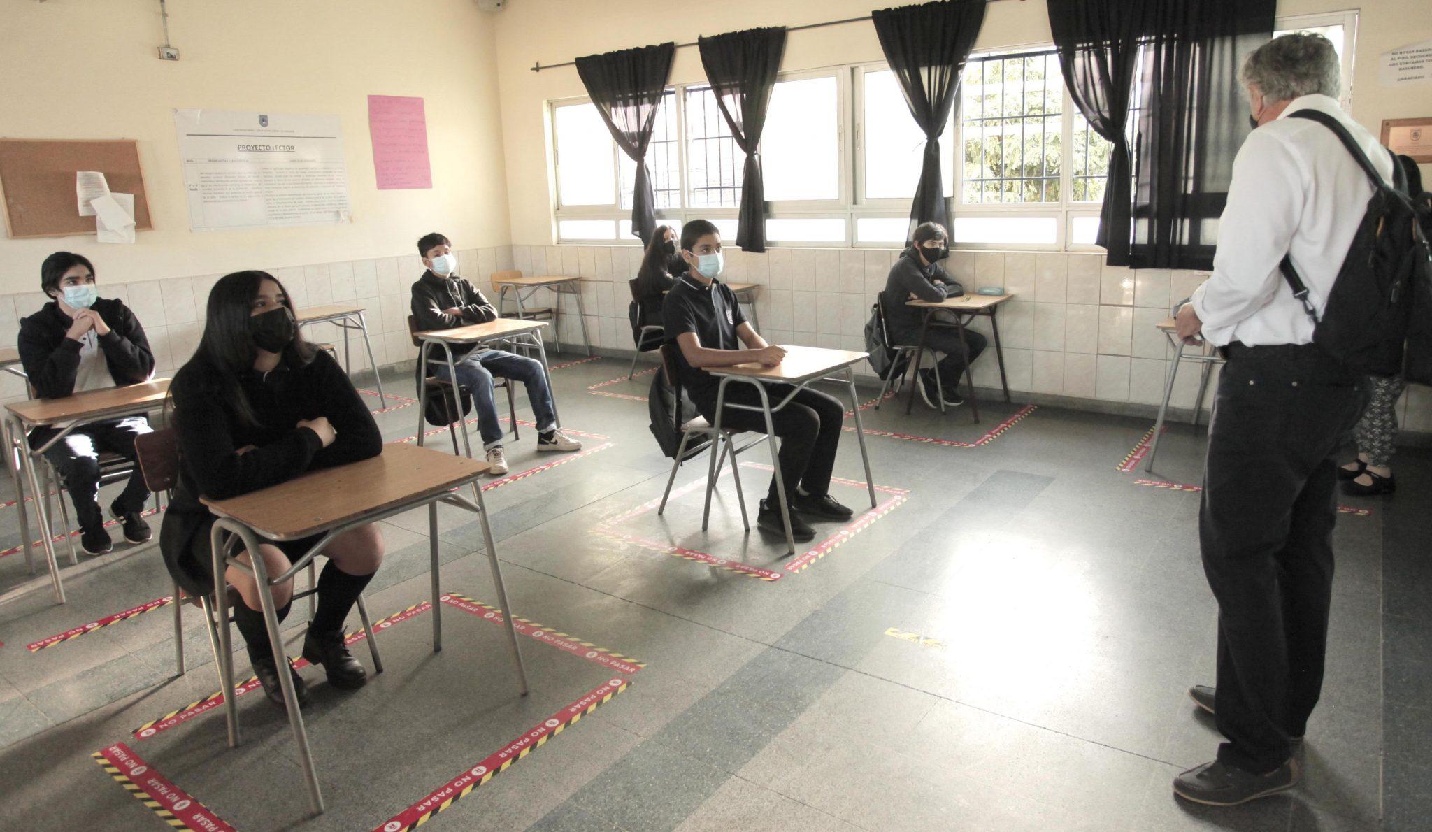 Alcalde Eduardo Soto da inicio el año escolar en Liceos Emblemáticos de la ciudad de Rancagua