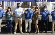 Monticello realiza importante donación de insumos médicos al municipio de Mostazal