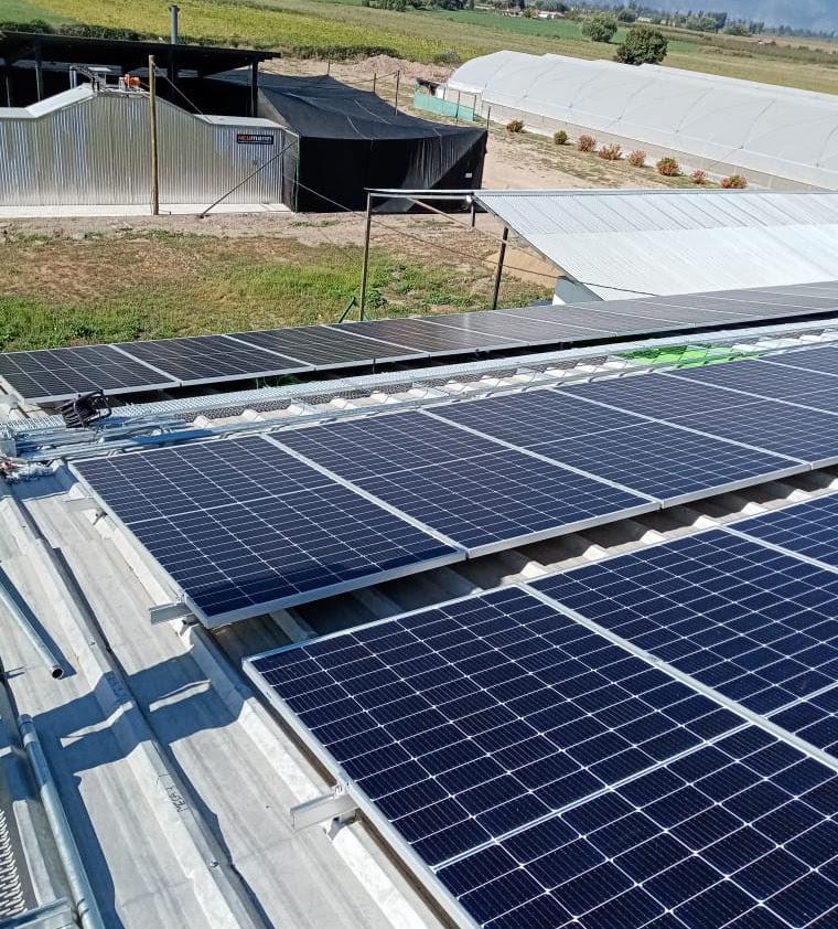 Cooperativa de agricultores de Pichidegua implementa planta fotovoltaica que beneficiará a la comunidad