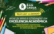 Municipio de Rancagua entrega Becas de Excelencia académica a estudiantes egresados este 2020 por más de 60 millones de pesos