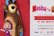El show oficial de Masha y el Oso llega por primera vez vía streaming