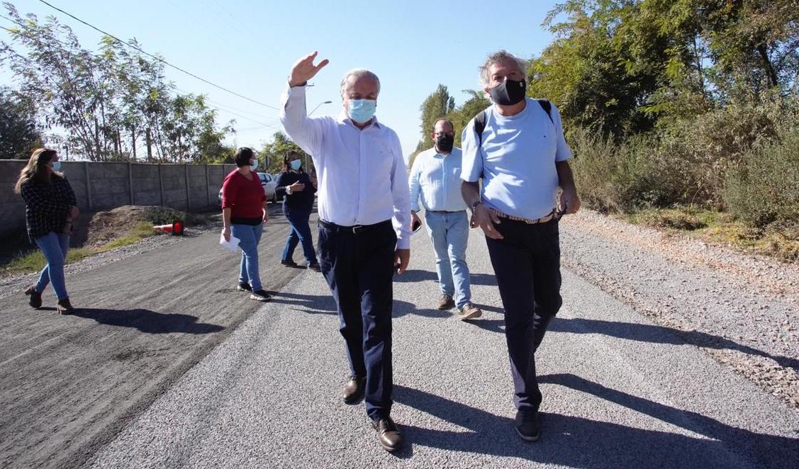 Pavimentación Ruta H200 sector Santa Elena un logro importante para los vecinos de Rancagua