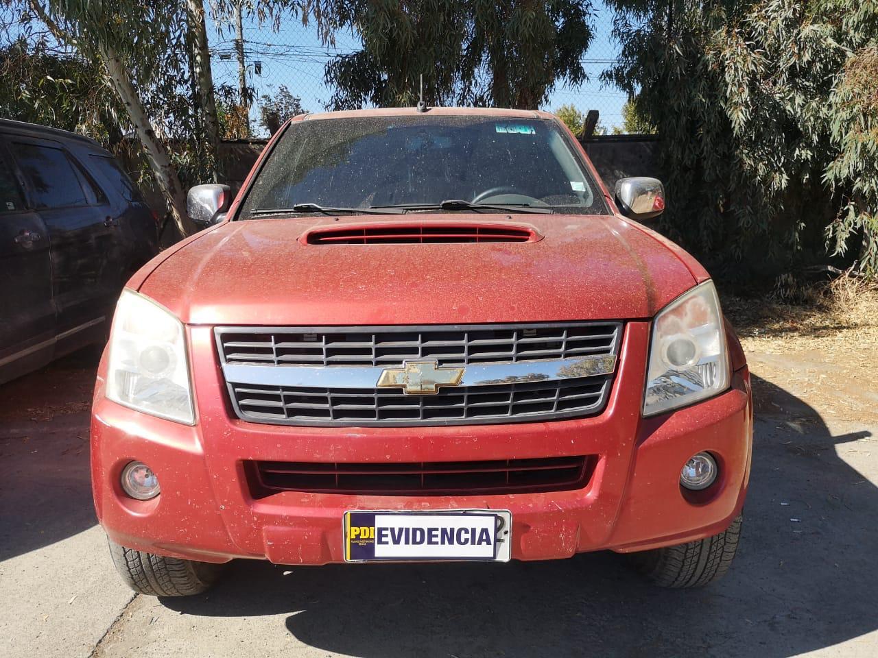 En Graneros PDI recuperó camioneta robada
