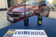 Con inhibidores de señal sujetos robaban en los vehículos