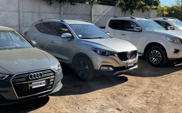 En Rengo recuperan vehículos robados en distintos puntos de Santiago