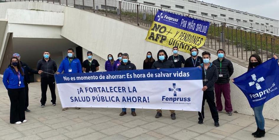 Fenpruss: Profesionales de la salud criticaron el manejo de la pandemia