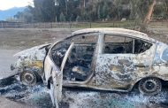 Sujeto quemó su vehículo año 2020 para cobrar el seguro
