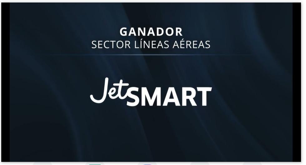 JetSMART obtiene Premio Nacional de Satisfacción de Clientes en la categoría Líneas Aéreas