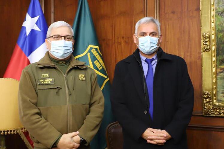 Gobernador Regional solicita nueva comisaría de Carabineros para Rancagua Poniente y mayor dotación policial en comunas