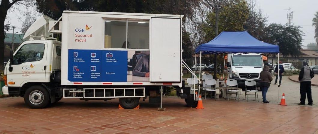 Oficina móvil CGE ha atendido a más de 21 mil clientes en regiones Metropolitana, O´Higgins y Coquimbo