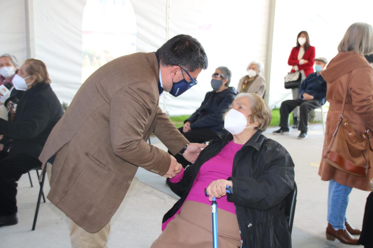 """Alcalde Juan Ramón Godoy e inicio de vacunación de refuerzo: """"Nuestros equipos están a disposición para continuar con el proceso"""""""