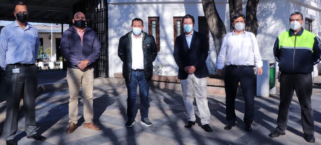 Monticello realiza nueva donación a Mostazal y entrega 11.000 escudos faciales