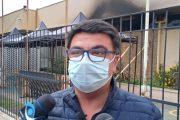 Incendio, Robo y Amenazas: Alcalde de Rancagua solicitará protección policial